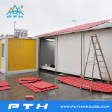 Economic Container House with Balcony for Comfortable Living clouded