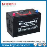 Batterie de voiture coréenne de la batterie de voiture de prix bas de batterie de voiture 24V