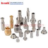 Pièce verticale hydraulique ou pneumatique de support avec des sorties
