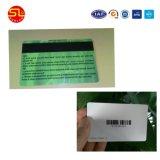 Heiße verkaufende aufnahmefähige /IC/ID /NFC/Tk4100/Em/UHF/Mf magnetischer Streifen-Chipkarte unbelegtes Weiß 2016 Belüftung-(freie Proben)