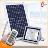 Proyector LED Solar de la calle exterior Proyector de alta calidad con 5 años de garantía de la lámpara halógena de Energía Solar