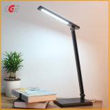Tabla de LED LED de luz LED de luces lámparas de escritorio de escritorio Mesa de luz LED regulable Lámpara de mesa LED modernos con interruptor de contacto