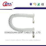 Шнур катушки & линия кабель телефона шнура