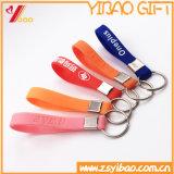Crear el silicón para requisitos particulares Keychain, Keyring de goma, Keyring con el Wristband (XY-ST-006)