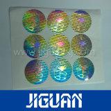 Collant imprimable bloqué adhésif d'hologramme d'impression polychrome