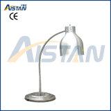 Calentador del alimento del calientaplatos de la pista del doble de la dimensión de una variable de la lámpara de calle Psd-2 con la base de mármol