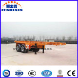 O Vietname Two-Axle 40FT Recipiente esquelética Truck semi reboque para Port
