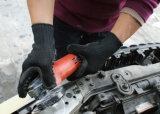 Anti vibration Impact-Resistant Gants de travail de la sécurité tricotés avec de la mousse de latex