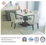 Mobília do hotel com a tabela de jantar de madeira para a sala de jantar (7899)