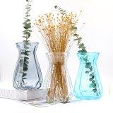 Florero de vidrio al por mayor para la decoración del hogar