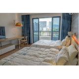 Подгонянный самый последний экономичный комплект спальни мебели гостиницы способа