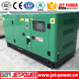 Gerador Diesel silencioso dos geradores 60kVA 50kw de EPA com auto transferência