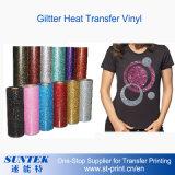 Vinilo del traspaso térmico de Giltter para la camiseta/Jersey/la ropa de deportes