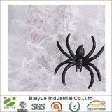 Поддельные веб-паук в белый цвет Хэллоуин Группа украшения