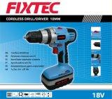 Fixtec 18V 10мм беспроводные сверло/драйвера с помощью двух Ni-CD аккумулятора (FCD01801)
