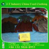 Beste Qualitätsmänner verwendeten Winter-Kleidung-Mann-Woolen Mantel in den Ballen
