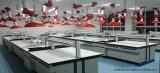 Parte superior da mobília do laboratório