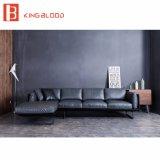 Il cuoio genuino americano stabilito del sofà progetta il piccolo sofà d'angolo