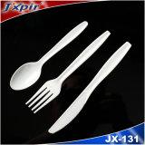 Jx131 Talheres de plástico resistente na cor coloridos