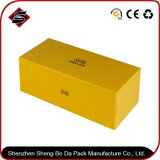 Boîte-cadeau personnalisée de carton de papier spécial de couleur