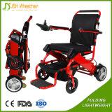 容易軽量の折る力の車椅子のスクーターを運びなさい