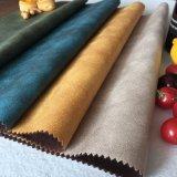 Meubles en cuir de copie concurrentielle Tissu Tissu Farbic daim