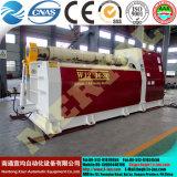 Máquina laminadora hidráulica, máquina de doblado de la placa de rodillo 4