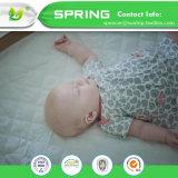 Super weiches Rayon Bambusjersey-Staub-Scherflein-Schutz-vom wasserdichten Baby-Matratze-Schoner mit organischem Bambusbaby Washcloths