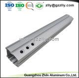 O LED Fita de Alumínio anodizado prateado Extruison com ISO9001