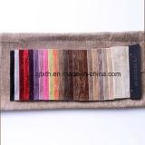 tissu coloré de plaine du Chenille 280GSM pour le sofa