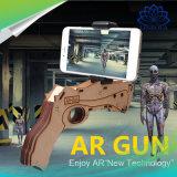 Wpste-AR il gioco Bluetooth 4.0 AR di legno di realtà aumentato DIY 3D Vr spara i giocattoli con il supporto del telefono