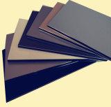 لون مختلفة ألومنيوم مركّب لوح صفح