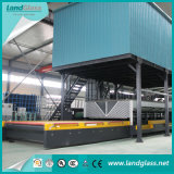 Luoyang Landglass Templado de Vidrio plano horizontal de la máquina