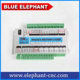 Router do CNC do Woodworking da linha central do preço 4 de China o melhor com a máquina giratória do CNC do dispositivo do elefante azul