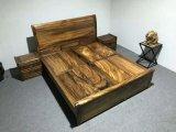 クルミの純木のキャビネットBedstandかサイドテーブル