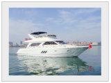 63pies yate de lujo Ocio FRP Barco Rápido 19m a 12 personas