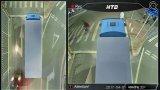 4CH 3D de 1,3 MP impermeável 360 Bird exibir câmara de marcha