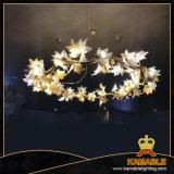 Lampen van de Tegenhanger van het Messing van het Project van het hotel de Decoratieve (KAP17-110)