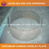 Carboneto do cromo que afronta a placa do desgaste para Shiploader