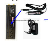 Los teléfonos celulares+GPS+Wifi+Lojack Jammer Blocker mano /8 banda móvil, WiFi, GPS, Control Remoto Jammer