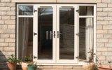 Puerta francesa de aluminio de la rotura termal de la doble vidriera