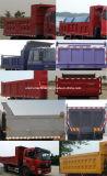 덤프 트럭 Dongfeng 사용된 소형 4*2 두 배 차축 10 톤