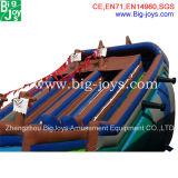 巨大で膨脹可能な水ゲーム販売の大人のための膨脹可能な水スライドのプールのスライド