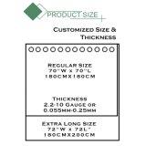 Diseño de impresión personalizada PVC resistente al agua con la cortina de ducha baño
