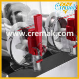 Granizado de alta calidad comercial de lodo de la máquina con 3 Bowls
