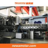 Máquina de Moldagem por sopro rotativo (mecanismos de argolas série)