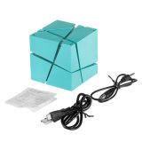 Altoparlante senza fili stereo ad alta fedeltà portatile del cubo universale LED Bluetooth