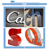 Aço inoxidável de alumínio que anuncia a máquina automática do dobrador da letra do CNC da letra