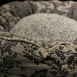 애완 동물 둥근 기억 장치 거품 매트리스 정형외과 패턴 개 침대