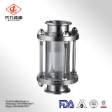 316L高品質の衛生ステンレス鋼の液体レベルタンクサイトグラスの十字のサイトグラスのBlsの304のガラス・カラムの視力
